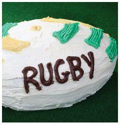 Rugby Ball Cake | Huletts Sugar