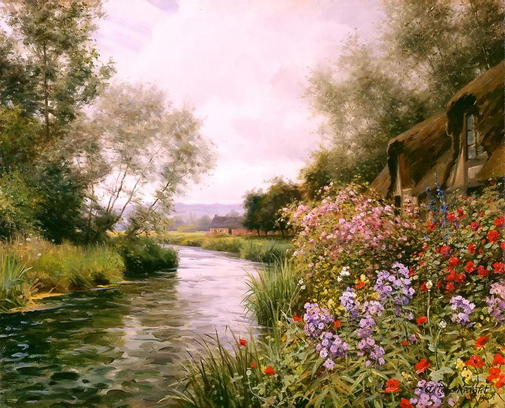 SUMMER, BEAUMONT LE ROGER, BY LOUIS ASTON KNIGHT
