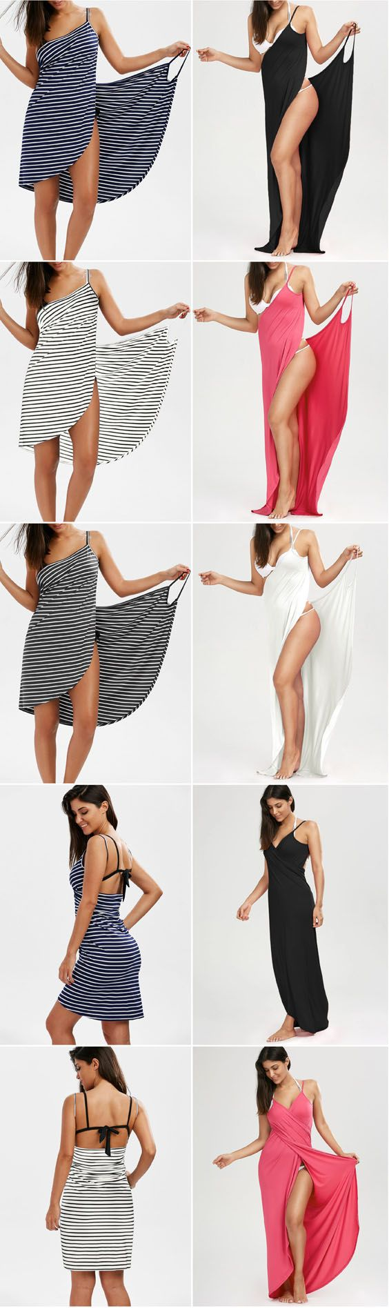 Up to 80% OFF! Striped Open Back Multiway Wrap Cover-ups Dress. #Zaful #coverup #swimwear Zaful, zaful bikinis, zaful swimwear, style, outfits,sweater, hoodies, women fashion, summer outfits, swimwear, bikinis, micro bikini, high waisted bikini, halter bikini, crochet bikini, one piece swimwear, tankini, bikini set, cover ups, bathing suit, swimsuits, summer fashion, summer outfits, Christmas, ugly Christmas, Thanksgiving, Gift, New Year Eve, New Year 2017. @zaful Extra 10% OFF Code:ZF2017