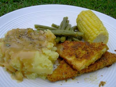 Vegan Thyme: Southern-Fried Vegan Country Dinner