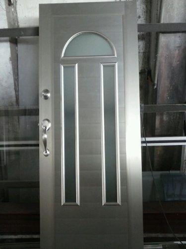 Puerta para entrada principal de lujo puerta para for Puertas de herreria para entrada principal