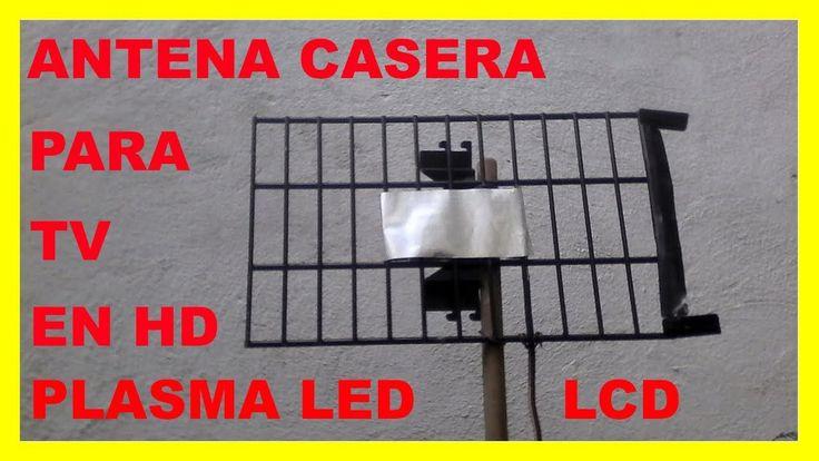 Como hacer una antena HD para Tv Plasma, LED, LCD.