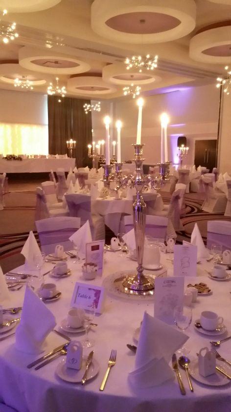 The wedding ballroom at the Carlton http://www.carltonhotelblanchardstown.com/weddings