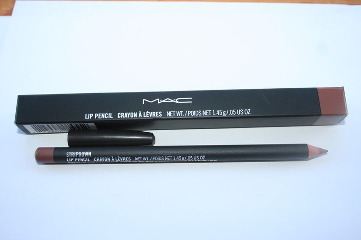 stripdown lip pencil MAC