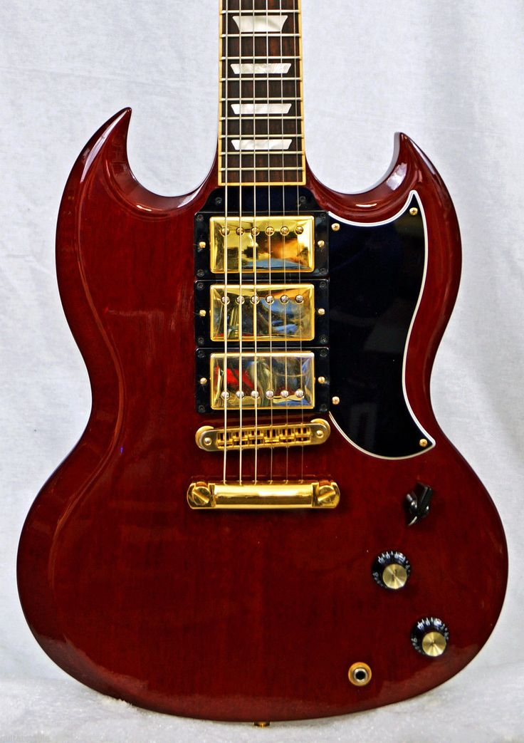 Gibson Sg 3 : gibson sg 3 6 way pickup selector 3 gold humbuckers hot for blues rock metal lansing 39 s world ~ Hamham.info Haus und Dekorationen