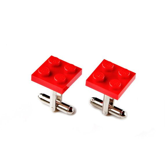 LEGO ® Red Cufflinks Set  LEGO ® is a trademark of the LEGO Group of companies  Crafted of LEGO ® bricks  100% money back guarantee in service and quality  Quick shipping with Delivery Confirmation  Beautiful gift box included  Type FREE1 at checkout for free First Class Mail shipping in the USA  Responsive and prompt customer service  5% of purchase donated to the Seattle Humane Society  20% return customer discount  A thoughtful gift idea for weddings, groomsmen, best man, anniversaries…