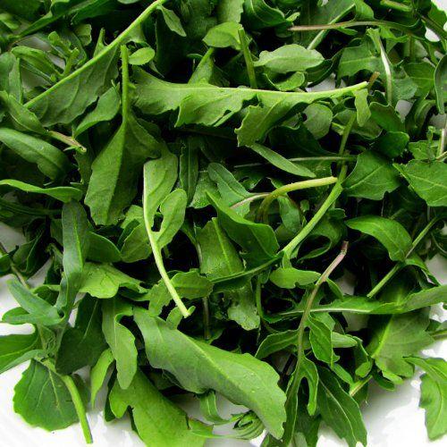#ARUGULA SEEDS (Eruca sativa) (aka Roquette or Rocket) Fast-growing cool season salad or sandwich green of Mediterranean origin. Sharp distinctive nutty flavor i...