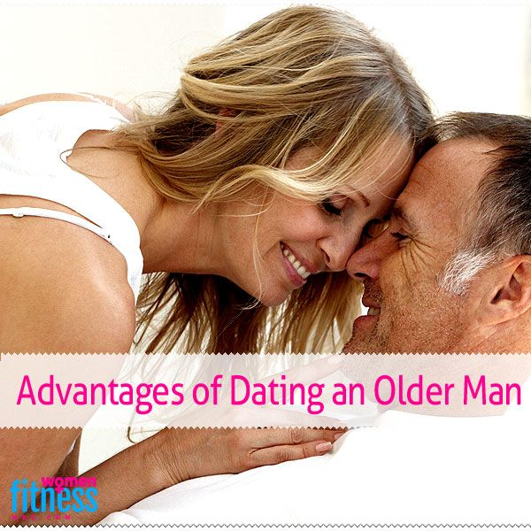 is dating an older man bad