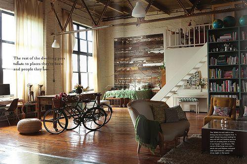 Decor, Expo Beams, Open Spaces, Interiors Design, Living Room, Modern Industrial, Loft Spaces, Vintage Interiors, Loft Apartments