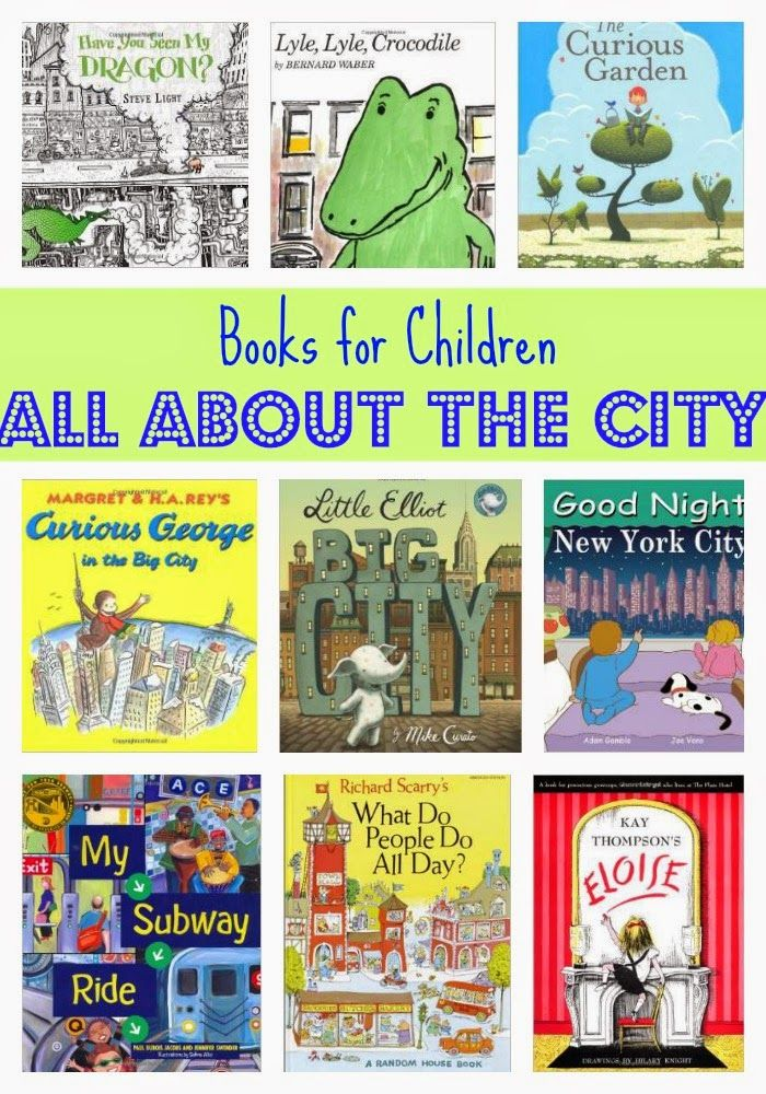 ***  This would be good to go along with a lesson on community.  ***   Kids' Book Favorites:  All About the City