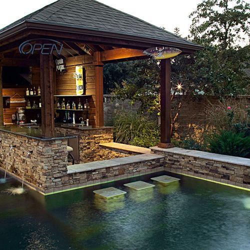 Swim Up Bar Ideas, Pictures, Remodel and Decor