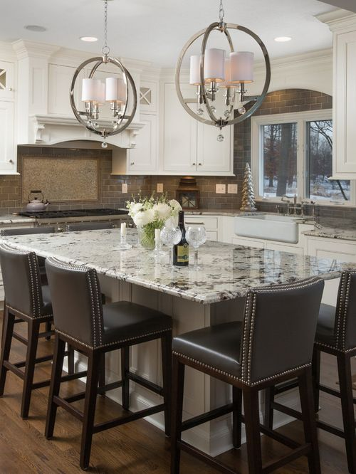 """bianco Antico"" Granite Countertop Kitchen Design Ideas, Remodels & Photos"