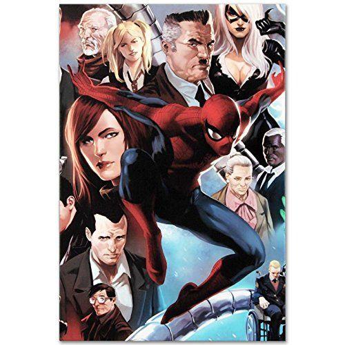 AMAZING SPIDERMAN Original Giclee Marvel Artwork Comic Stan Lee Marko Djurdjevic @ niftywarehouse.com