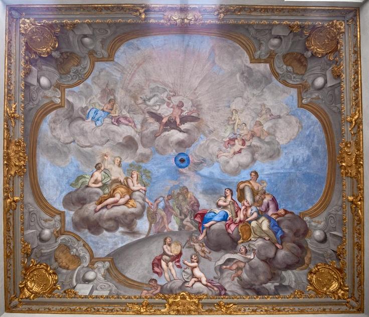 """Ganimede asceso in cielo ""Affresco di Giacomo Antonio Boni"