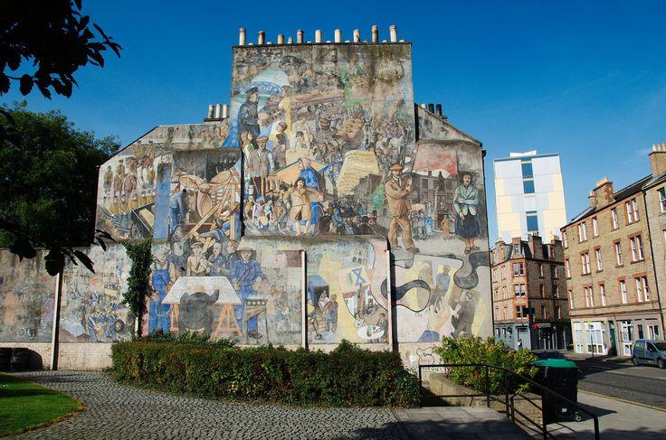 Leith mural