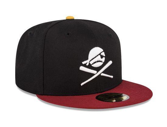 Piratas de Campeche Retro Black 59fifty Fitted Cap  e7d4e8f8cccb