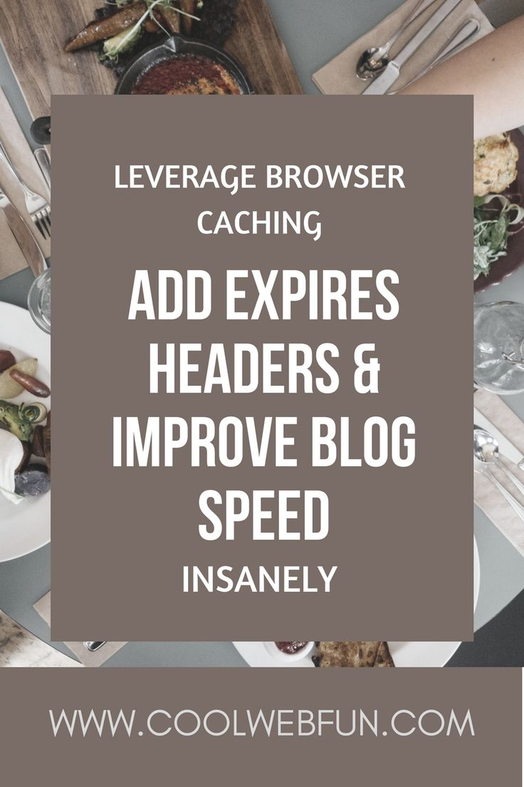 How to leverage browser caching and increase website speed? Browser cache is one of the important aspect of website speed. Check out how to speed up wordpress   http://www.coolwebfun.com/leverage-browser-caching-how-to-add-expires-headers/