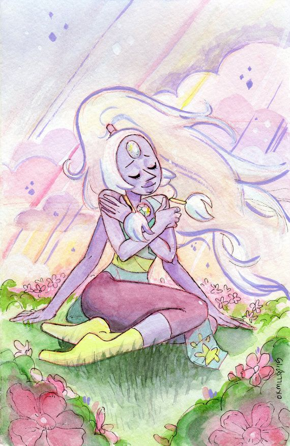 The Greatest Love of All: Steven Universe  Opal Gem by FromMyHat