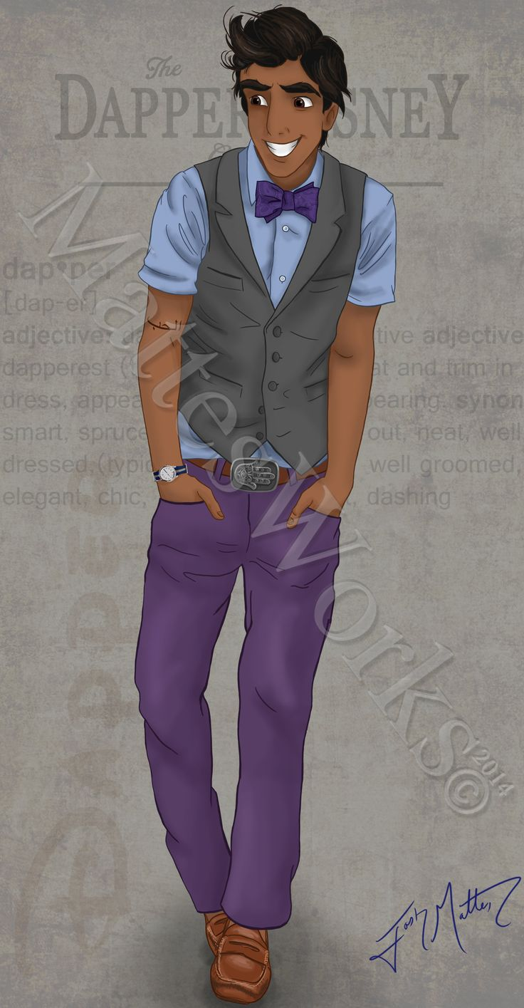 Dapper Aladdin by MattesWorks.deviantart.com on @DeviantArt