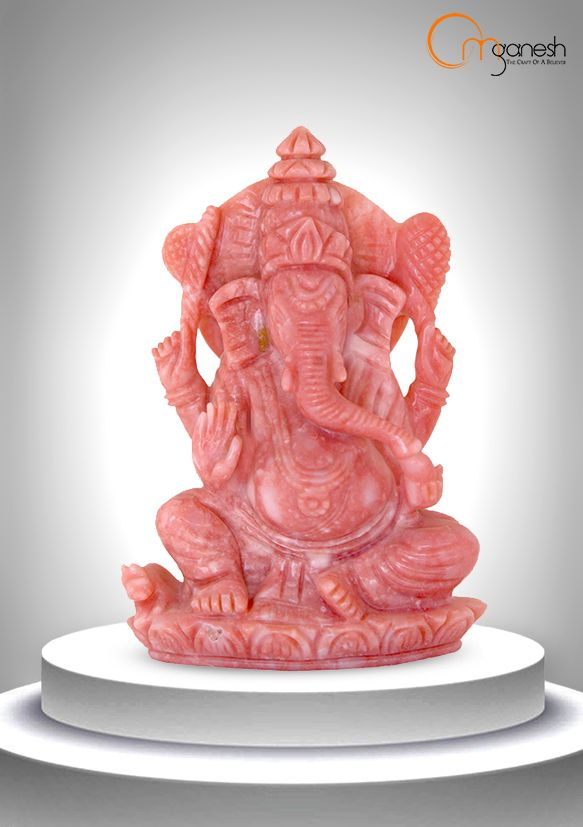 Meditate in the presence of a Pink Opal Ganesha idol to bring compassion & a gentle resolution of any & all painful memories.