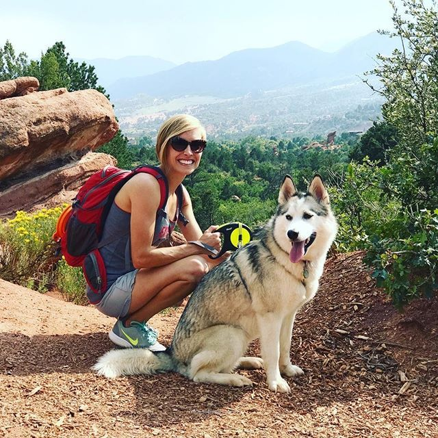 Garden of the Gods Colorado Springs. Fur babies, Husky