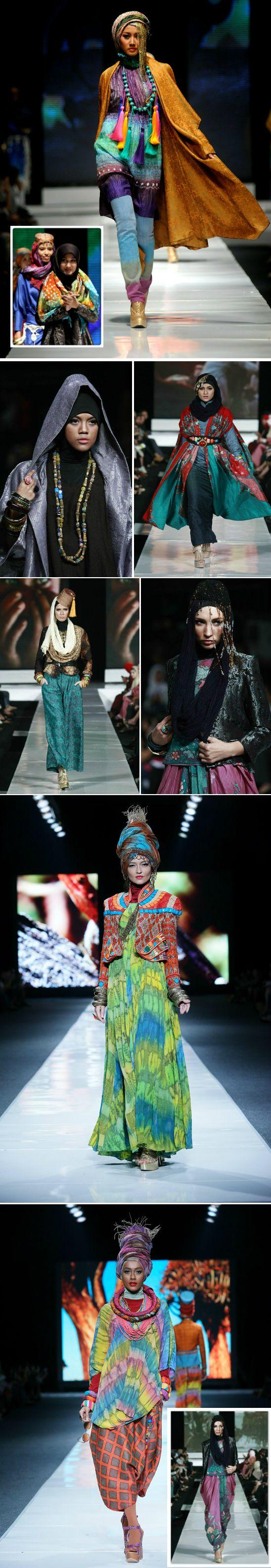 Earth ✵Wheel ✵ Sky✵ Caravan: Fashion Crush of the Day: Dian Pelangi {Indonesia}