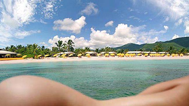 Nude Beach on St. Maarten. #SXM #Caribbean
