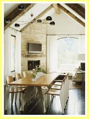 Rustic Dining Rooms On Pinterest