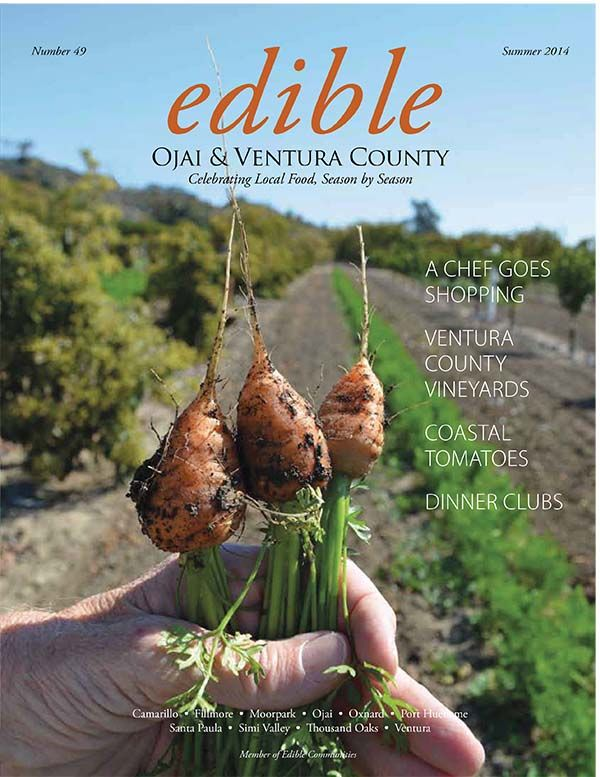 Vote for Edible Ojai in our cover contest by pinning this cover. Ventura County Agricultural Education will receive a $500 grant from Edible Feast if Edible Ojai & Ventura County's cover has the most social media shares.