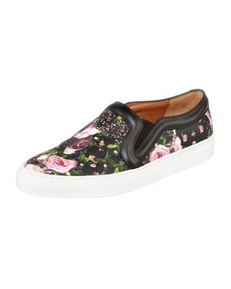 Sunday, January 26th: Givenchy Floral-Print Slip-On Sneaker, 212 872 8940