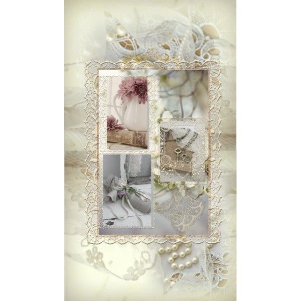 Lace And Rustic Charm by acreativelife on Polyvore