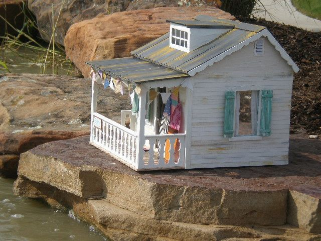 Petite beach house