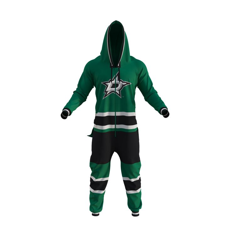 Official NHL licensed team fan wear. Fleece onesies, sock hats and more.
