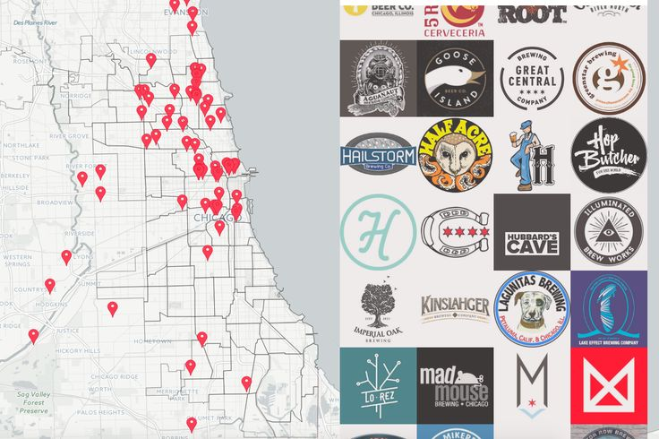 Chicago's craft beer scene is booming, and whether you're looking for a brewery tour, or just your next favorite IPA, stout or lager, our map can guide you. It doesn't have to be Chicago Craft Beer Week to experience all the delicious drinks the city has to offer.