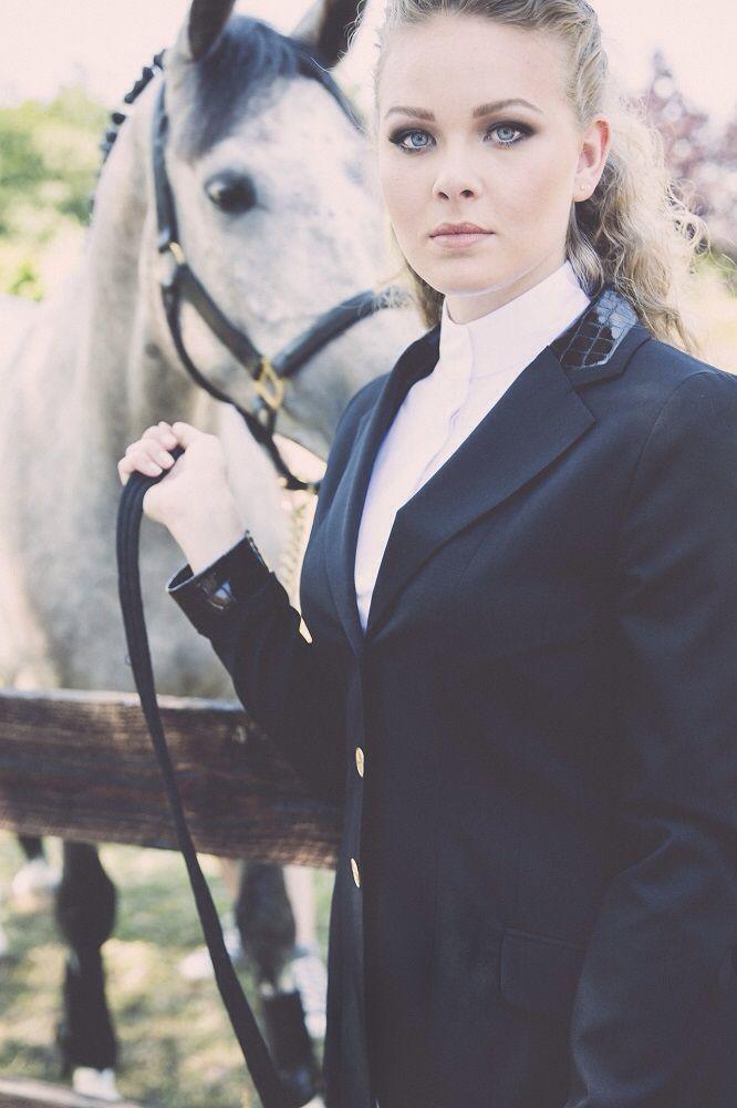 Limited Edition showjacket, showjumping, dressage, Elitz Equestrian. Black-mozaïek