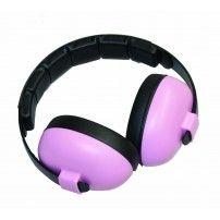 Baby Banz Ear Muffs Mini 3M - 2Yrs Baby Pink