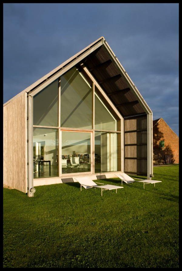BURO II U0026 ARCHI+I, Kris Vandamme · The Barn House. Satteldach HolzhausFerienUmbauIdeenModerne Scheune HausZeitgenössische  ArchitekturArchitektur ...