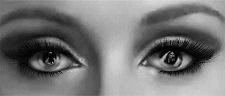 Adele - The eyes have it. hayward simmons