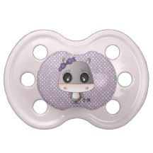 Aimi the hippo BooginHead pacifier