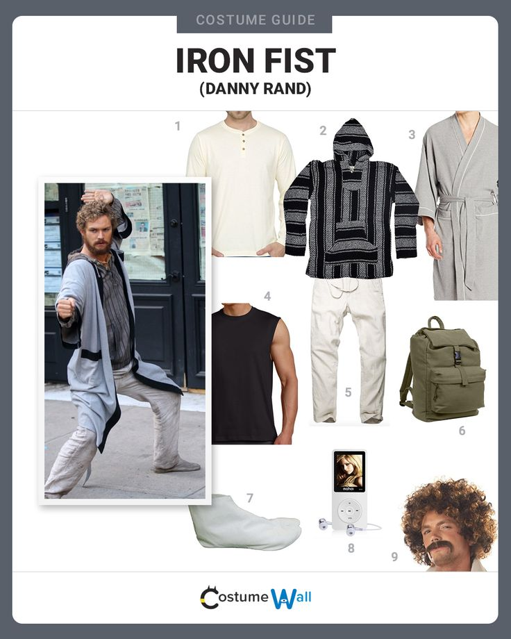 The best cosplay guide to get in costume as Danny Rand the Marvel superhero known as Iron Fist who is featured in his own comic and Netflix TV series.