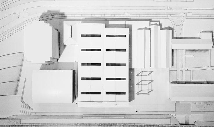 CIVIC architects - Public Library - Tilburg   Model