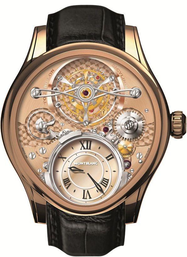 Montblanc Villeret Tourbillon Bi-Cylindrique Watch