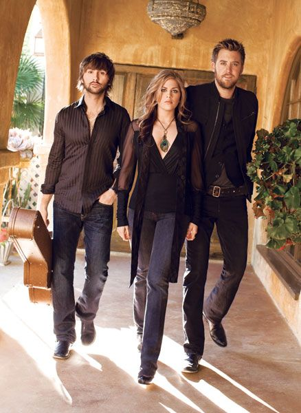 Lady Antebellum. At the beginning.