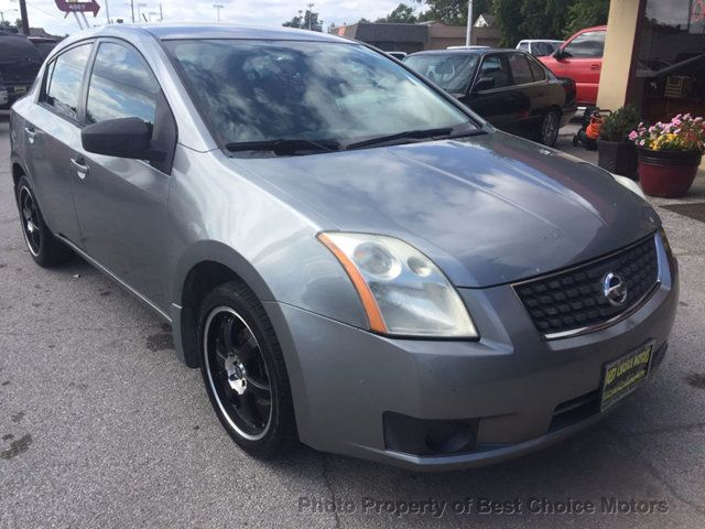 2007 Nissan Sentra 4dr Sedan I4 Manual 2.0 S