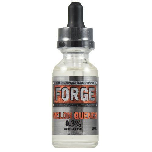 Forge Vapor eLiquids Melon Quench - For many vapers, watermelon isn't an optional flavor. Melon Quench packs a punch true to its name, with a watermelon flavor that's tried and true. If you're a fan of juicy vape flavors, Melon Quench will satisfy your thirst after a long search for the perfect all day vape.80% VG