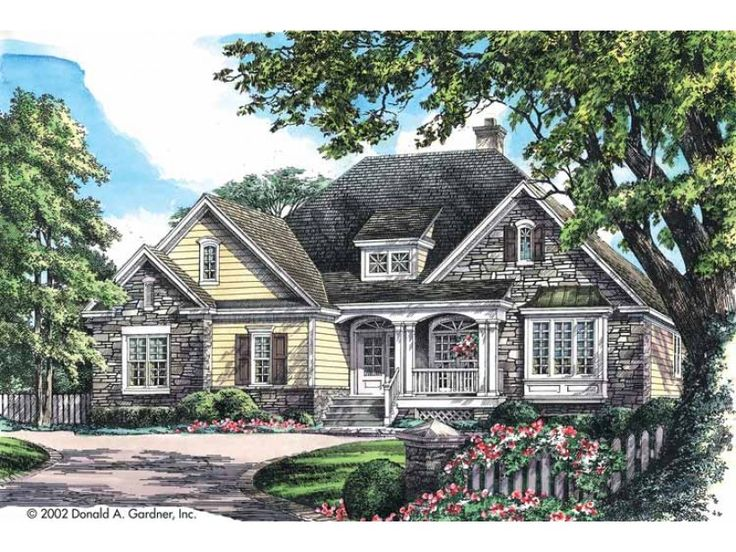 French Country Home Plans Donald Gardner