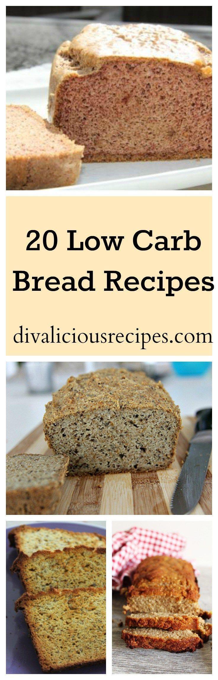 20 Low Carb Bread Recipes