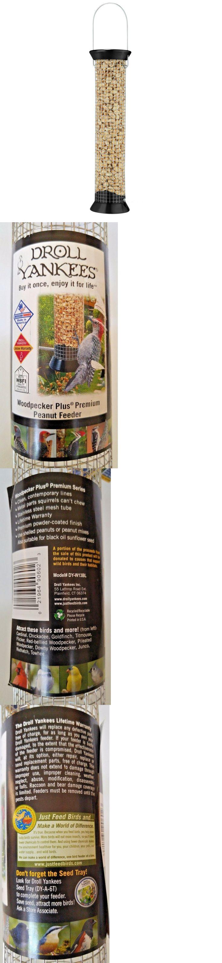 Seed Feeders 42350: Droll Yankees 13 Woodpecker Plus Premium Peanut Feeder Metal Wild Bird New -> BUY IT NOW ONLY: $34.99 on eBay!