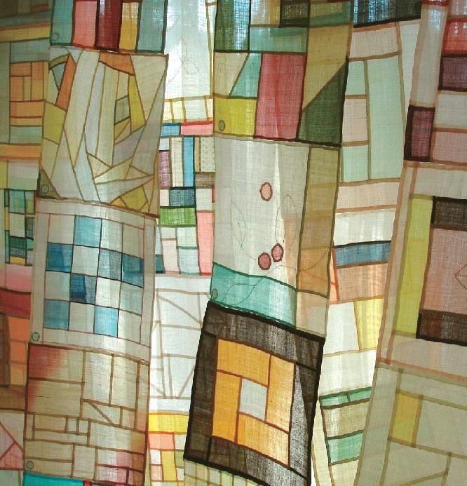 Korean pojagi patchwork.