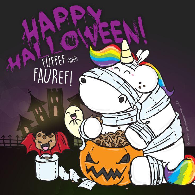 Happy Halloween Pummeleinhorn